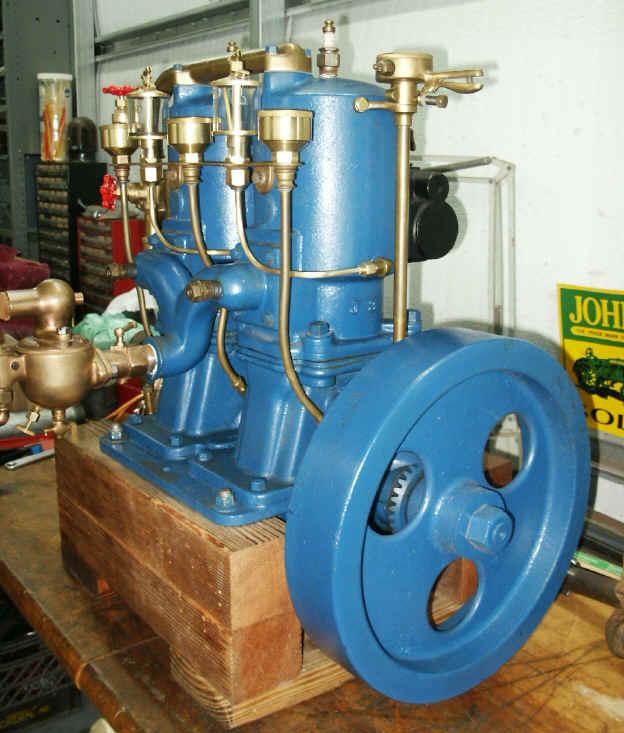 Caille Twin Marine Engine Smokstak
