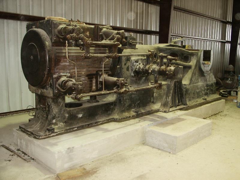Large stationary steam engine smokstak for Stationary motors for sale